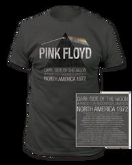 Pink Floyd Piece for Assorted Lunatics Charcoal Short Sleeve Adult T-shirt