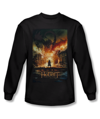The Hobbit The Battle of the Five Armies Smaug Poster Adult Long Sleeve T-shirt