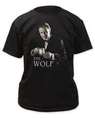 Pulp Fiction The Wolf Black Short Sleeve Adult T-shirt