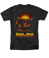 Dawn of the Dead Dawn Collage Adult T-shirt