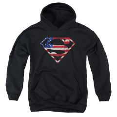 Superman Super Patriot Youth Pull-Over Hoodie