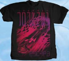 Journey Escape Black Short Sleeve Adult T-shirt