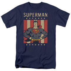 Superman Retro Liberty T-shirt