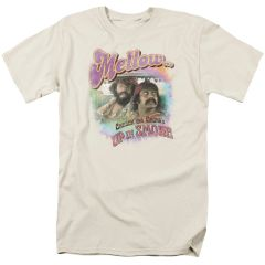 Cheech and Chong Mellow Cream Short Sleeve Adult T-shirt