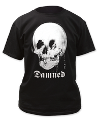 The Damned Mirror Skull Adult T-shirt