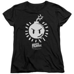 Scott Pilgrim vs The World Sex Bomb OMB Logo Womens T-shirt