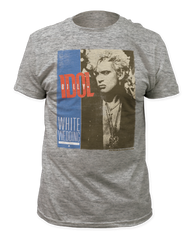 Billy Idol White Wedding Heather Grey Short Sleeve Adult T-shirt