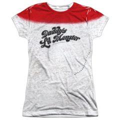 Suicide Squad Harley Q Monster Junior T-shirt