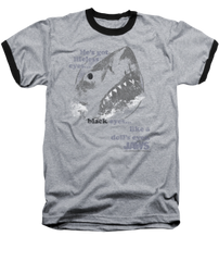 Jaws Like a Dolls Eyes Ringer T-shirt