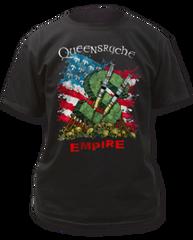 Queensryche Tour Black Short Sleeve Adult T-shirt