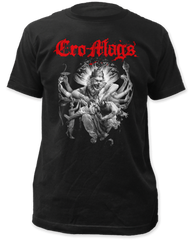 Cro-mag Best Wishes Black Cotton Short Sleeve Adult T-shirt