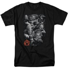 Sons of Anarchy Group Fight T-shirt