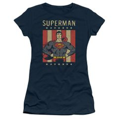 Superman Retro Liberty Junior T-shirt