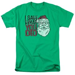 Christmas I Saw What You Did T-shirt