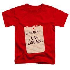 Christmas Note Toddler T-shirt