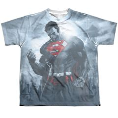 Superman Light of the Sun Youth T-shirt