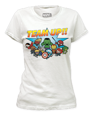 Marvel Team Up Junior T-shirt