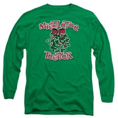 Christmas Mistletoe Tester Long Sleeve T-shirt