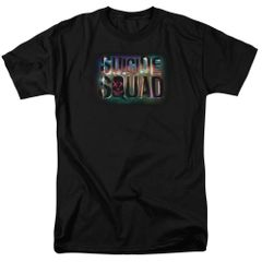 Suicide Squad Neon Logo Adult T-shirt