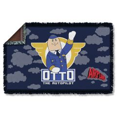 Airplane Otto Woven Throw Blanket