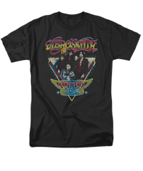Aerosmith Triangle Stars Adult T-shirt