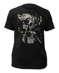 The Band Basement Tapes Black Adult T-shirt