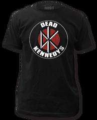 Dead Kennedys Brick Logo Black Short Sleeve Adult T-shirt