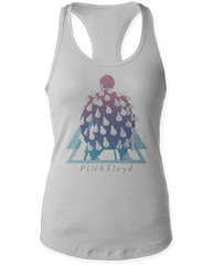 Pink Floyd Delicate Sound of Thunder Silver Women's Tank Top T-shirt