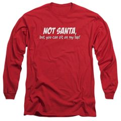 Christmas Not Santa Long Sleeve T-shirt