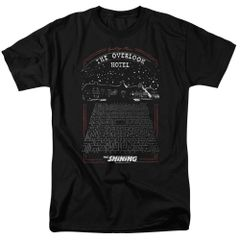The Shining The Overlook Hotel Black Short Sleeve Adult T-shirt