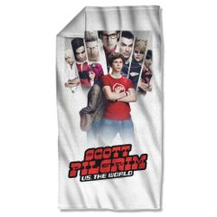 Scott Pilgrim vs The World Poster Beach Towel