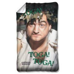 "Animal House Toga Fleece Blanket 36"" X 58"""