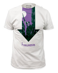 Hawkeye Arrow Adult T-shirt