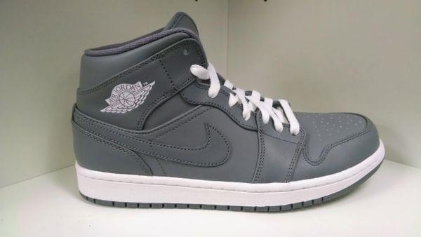Cool Grey Jordan 1 MID