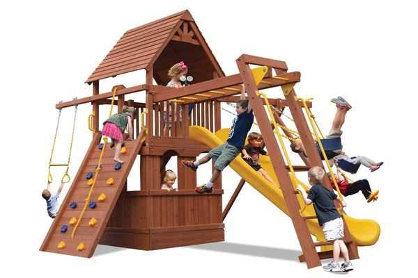 Turbo Deluxe Fort Combo 3 w/ Lower level Playhouse