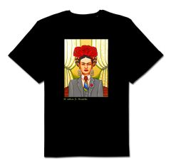 Frida La Chingona 100% cotton unisex black