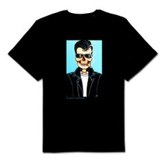 Slick 100% cotton unisex Black tshirt
