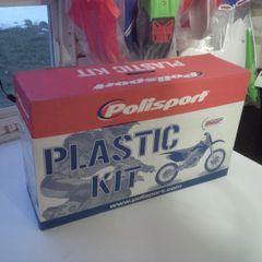 Polisport 2006-2008 Kawasaki KXF450 PARTIAL Plastic Kit