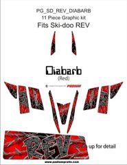 Rev DIABARB Red wrap