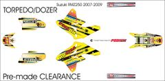 Suzuki RMZ250 2007-2009 Torpedo/Dozer(Keast) Grafix PRE-MADE
