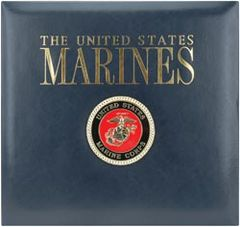 K&Company Military US Marines 12 x 12 Scrapbook Album