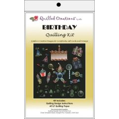 QUILLED CREATIONS BIRTHDAY THEME QUILLING KIT