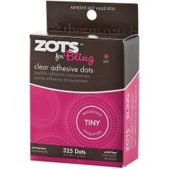 Zots Bling Tiny Clear Adhesive Dots