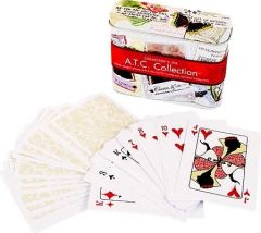 Leisure Arts 1st Edition ATC Deck of Cards w/ Collector Tin