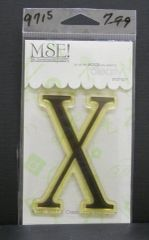 MSE-Classic Upper Monogram Stamp Letter X