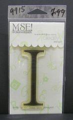 MSE-Classic Upper Monogram Stamp Letter I