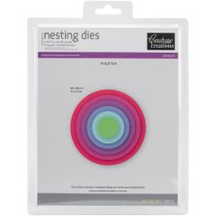 Couture Creations Nesting Dies-Circle