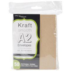 "Darice Heavyweight A2 Envelopes (4.37""X5.75"") 50/Pkg"