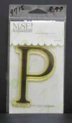 MSE-Classic Upper Monogram Stamp Letter P