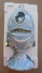 Avon 2003 Bluebird Musical Porcelain Egg